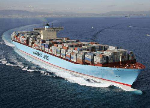 Container ships become more energy-efficient