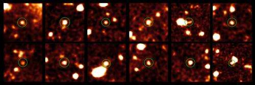 Dark galaxies of the early Universe spotted for the first time
