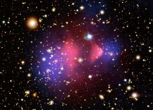 Discovery of the Musket Ball Cluster