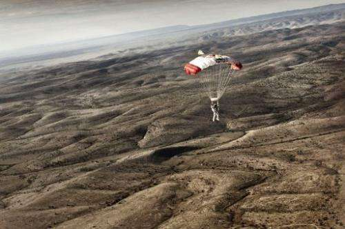 Felix Baumgartner is aiming to become the first human to break the sound barrier in freefall