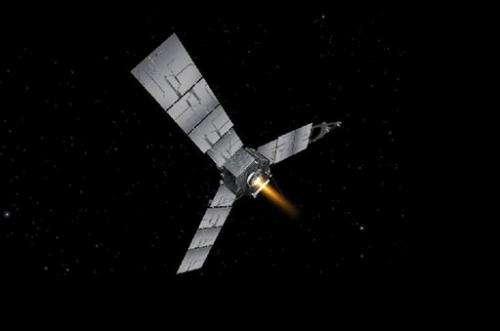 Jupiter-bound craft's 2nd maneuver delayed 10 days