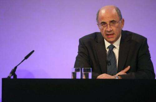 Lord Justice Brian Leveson, pictured in London, on November 29, 2012