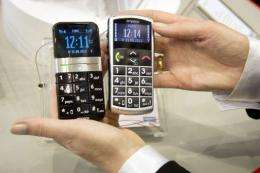 Mobile phones with bigger button are among some of the products aimed at the elderly