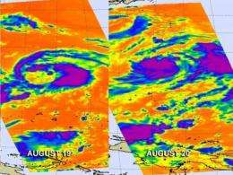 NASA watches as Tropical Storm Bolaven develops