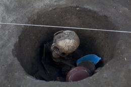 Remains of 15 found in ancient Mexican settlement
