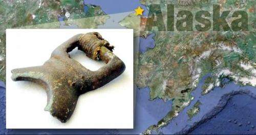 Researchers unearth ancient bronze artifact in Alaska