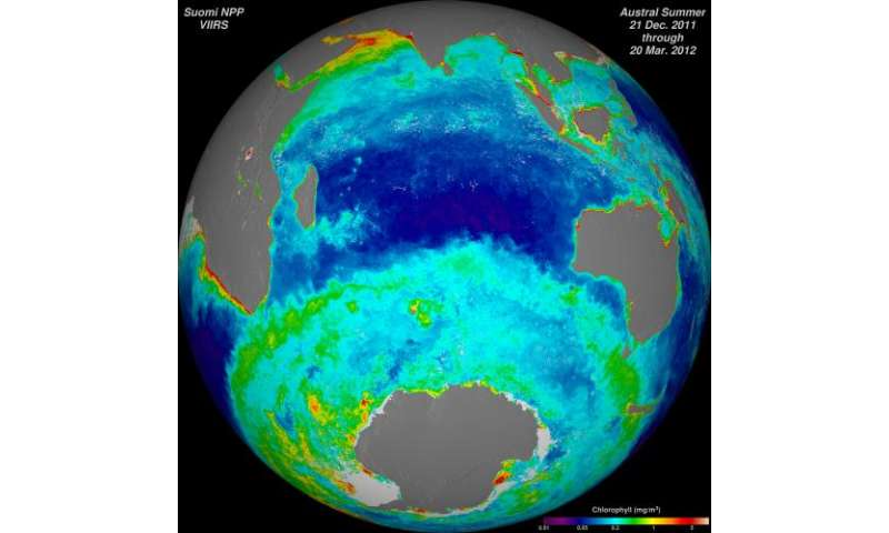 Storms, ozone, vegetation and more: NASA-NOAA Suomi NPP satellite returns first year of data