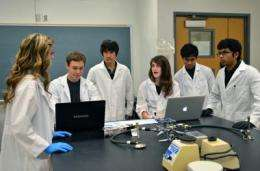 Students create low-cost biosensor to detect contaminated water in developing nations