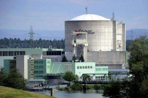 Switzerland's oldest nuclear power plant Beznau is seen near Doettingen, northern Switzerland