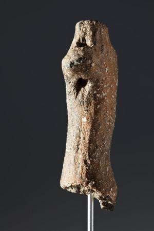 The most ancient pottery prehistoric figurine of the Iberian Peninsula is found in Begues