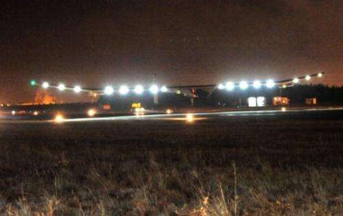 The Solar Impulse solar plane