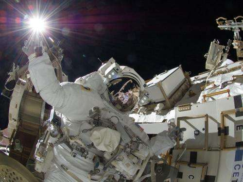'Touching the Sun': Sunita Williams on spacewalk