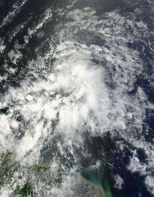 Tropical Storm Ernesto was an unwelcome visitor in St. Lucia
