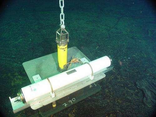Undersea volcano gave off signals before eruption in 2011