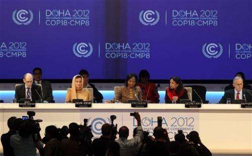 US defends 'enormous' climate efforts at UN talks