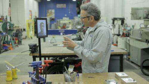 Walking iPads to move into telepresence robot market