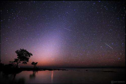 Quadrantids create year's first meteor shower