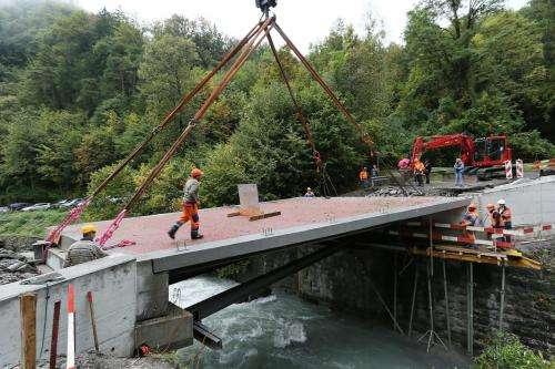 Balsa bridges - with a twist