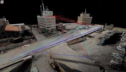 Mapping the tsunami to prepare for future events