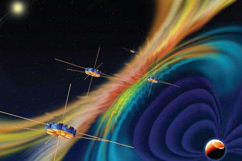 Instrument integration begins at Goddard on MMS spacecraft