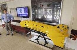 Navy tests ocean drones off US coast