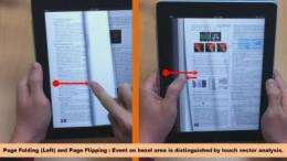 New smart e-book system more convenient than paper-based books