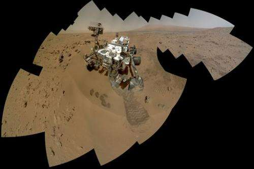 Road trip on tap for NASA's Mars rover in new year