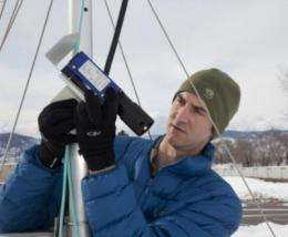 Scientists deploy lasers, GPS technology to improve snow measurements