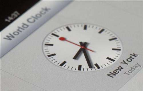 Swiss rail claims Apple copied its iconic clocks