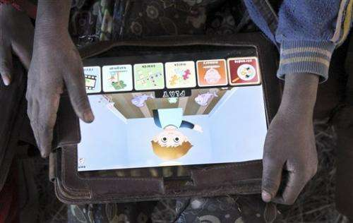 Tablet as teacher: Poor Ethiopian kids learn ABCs