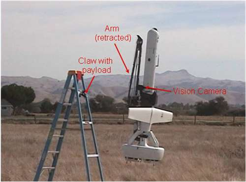 What an unmanned aerial vehicle can do with depth perception