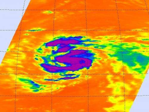 NASA Global Hawk and satellites attend Tropical Storm Nadine's 'Birth'