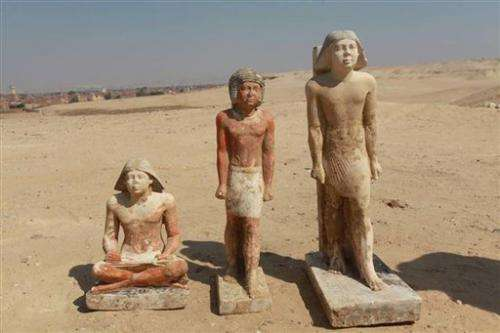 Pharaonic princess's tomb found near Cairo, Egypt