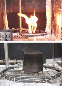 Novel clay-based coating may point the way to new generation of green flame retardants