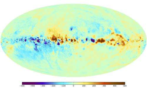 Scientists chart high-precision map of Milky Way's magnetic fields