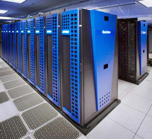 SDSC's 'Gordon' supercomputer: Ready for researchers