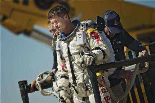 Team decides against Thursday supersonic skydive