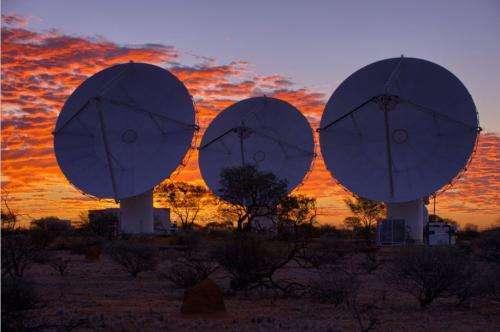 36-dish Australian telescope array opens for business