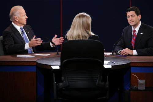 3Qs: Candidates spar in aggressive VP debate