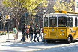 Georgia tTech researchers address bus bunching
