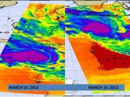 NASA sees cyclone Lua strengthening for March 17 landfall