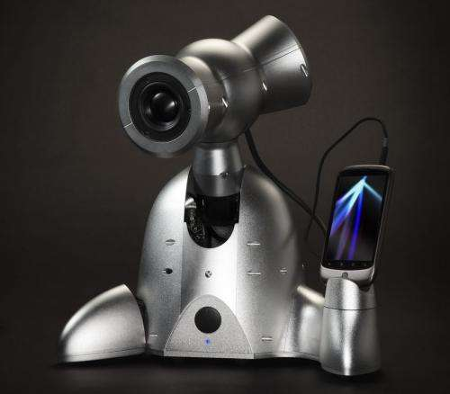 Musical robot companion enhances listener experience