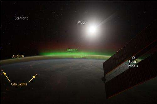 Research: Starlight and 'air glow' help scientists see Earth's clouds in new way
