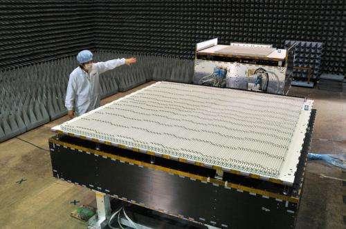 Spaceborne precipitation radar ships from Japan to U.S.