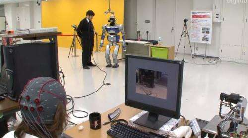 Researchers take another step towards mind controlled robots