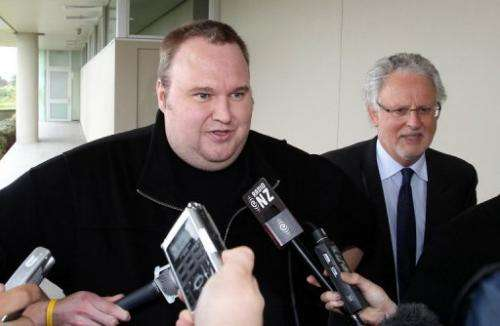 Megaupload boss Kim Dotcom, a German national, is free on bail in New Zealand ahead of an extradition hearing in March