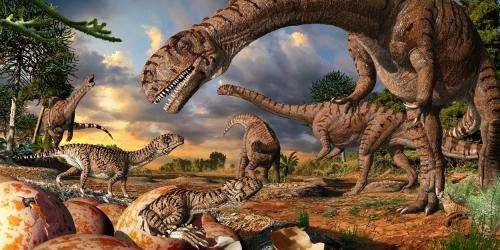 Ancient dinosaur nursery oldest nesting site yet found