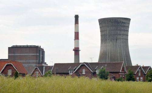 A coal power plant at the Hornaing site of Germany's largest energy company EON is pictured in northern France in 2011