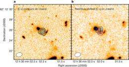 After ten years of trying, researchers measure distance to starburst galaxy HDF 850.1