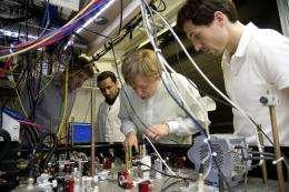 Physicists split an atom using quantum mechanics precision